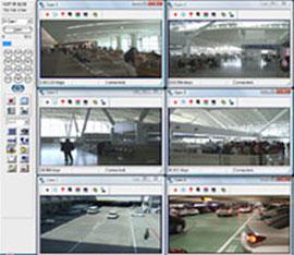 software controllo telecamera